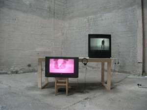 TISCH-Autechre by Željko Radić and Peter Tomc. Installation view, Gallery 1857, Oslo Norway