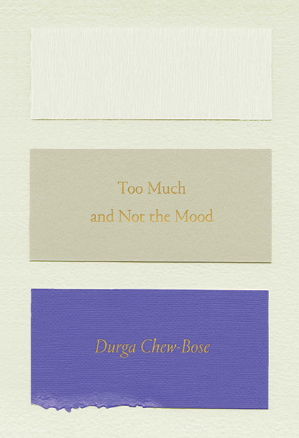A review of Too Much and Not the Mood