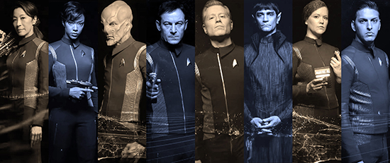 Star Trek Discovery Characters