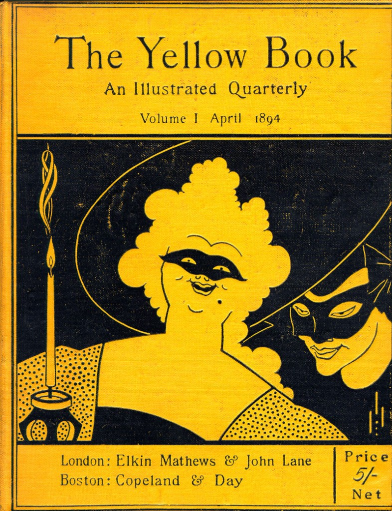 Image result for the yellow book magazine
