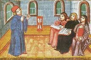 Image result for medieval scholastics