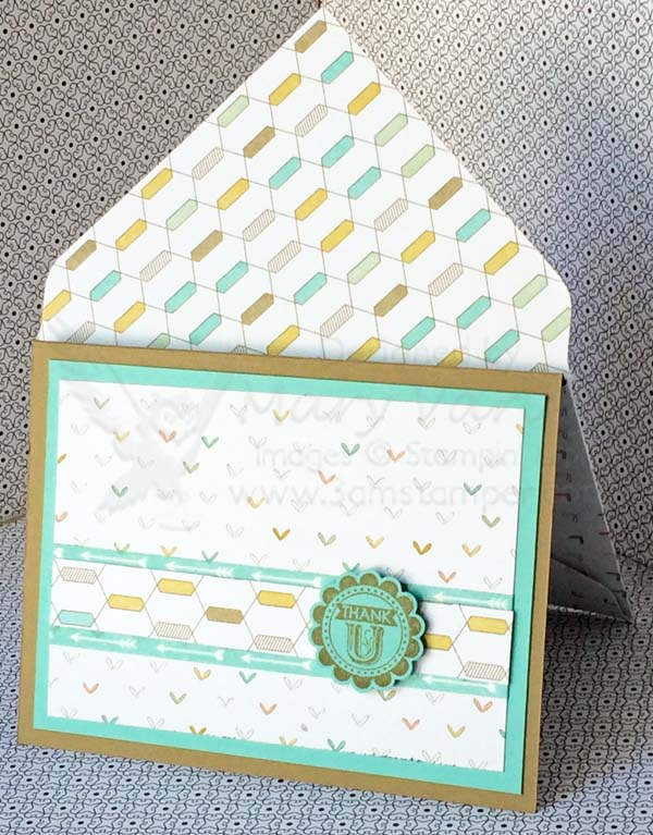Lullaby Card #9 with Coastal Cabana-Visit http://www.3amstamper.com
