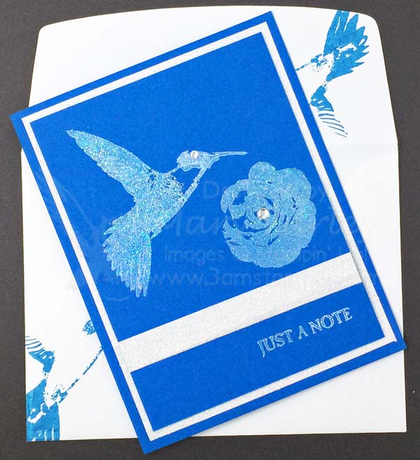 Pacific Point Just a Note Card - visit http://www.3amstamper.com
