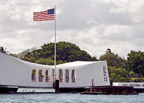 Pearl Harbor Memorial Close-Up