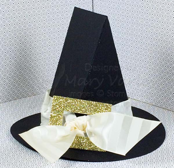 Witches' Hat Treat Box - Visit http://www.3amstamper.com