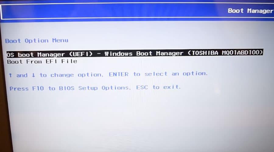 طريقة تسطيب ويندوز 10 على لاب توب Hp من خلال فلاشة Usb