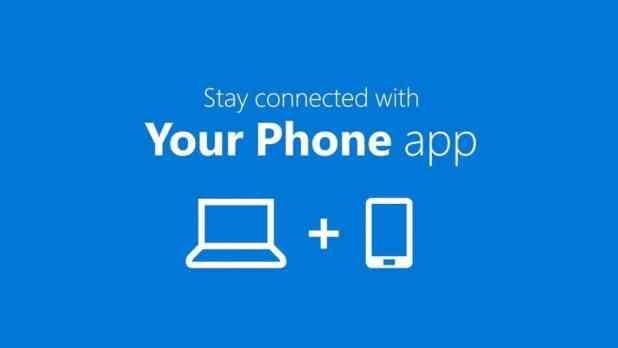 نتيجة بحث الصور عن تطبيق Your Phone