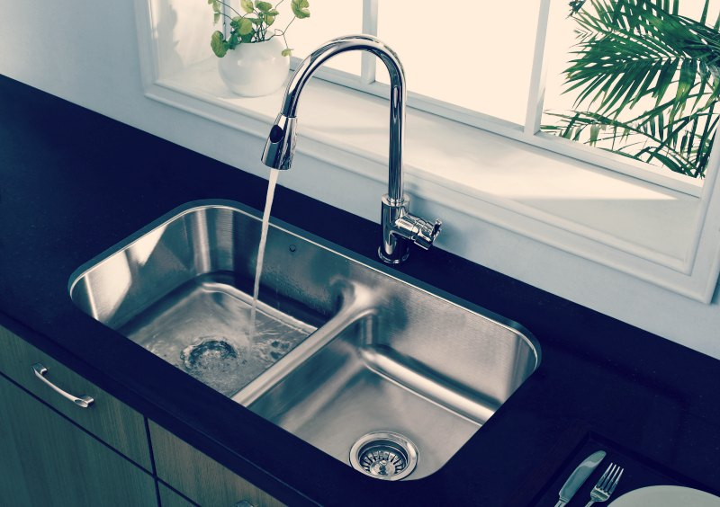 stainless kitchen sinks farm table benefits of choosing steel sink for your 3