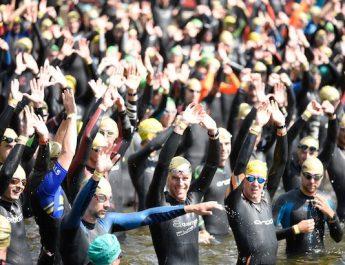 Triathlon de Gérardmer : le lac s'est enflammé !