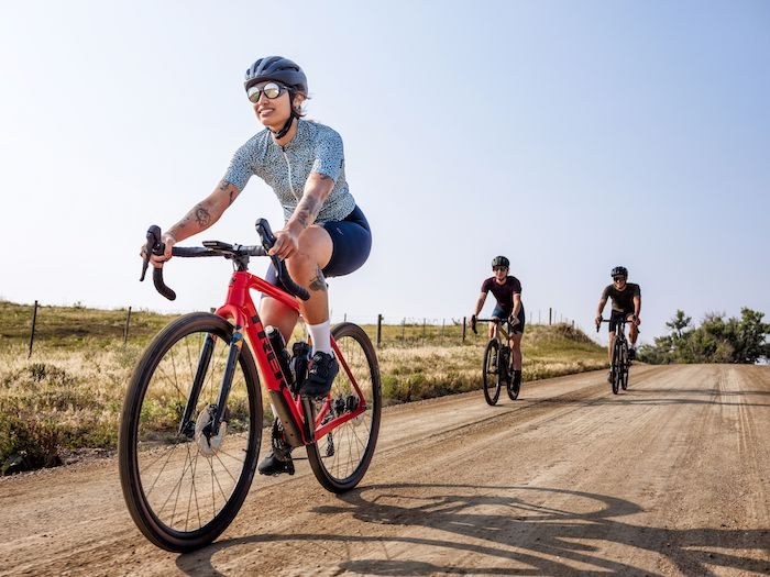 Trek presents its recent line of Checkpoint Gravel bicycles