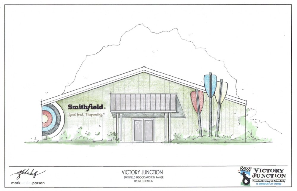 medium resolution of smithfield foods donation brings new indoor archery facility to victory junction