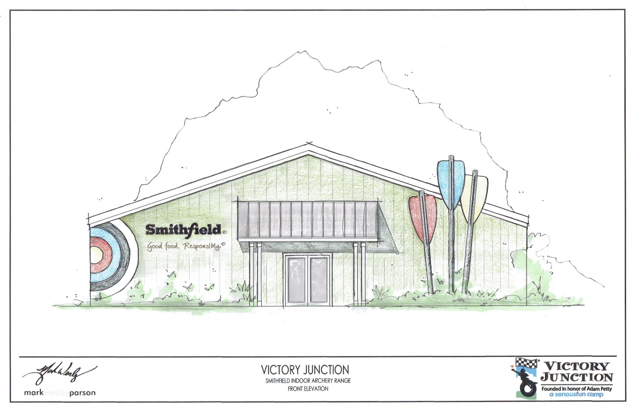 hight resolution of smithfield foods donation brings new indoor archery facility to victory junction