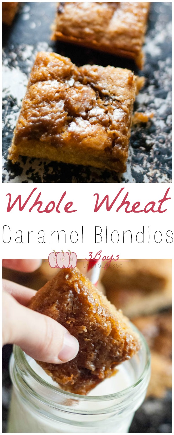 caramelblondies
