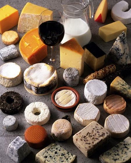 法國的奶酪及葡萄酒 - 三菜一湯