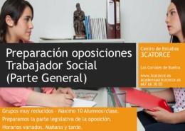 oposiciones-trabajador-social-academia-cantabria-3catorce-preparador Oposiciones Alfoz de Lloredo Bases y convocatoria para constituir bolsa peon y cometidos multiples