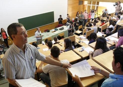 Ultima prueba de selectividad en Cantabria