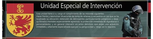intervencion Especialidades de la Guardia Civil