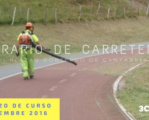 Curso Operario de Carreteras Gobierno de Cantabria