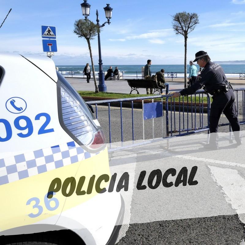 POLICIA-LOCAL-SANTANDER Cantabria presentará primer borrador de las Normas Marco reguladoras de Policía Local
