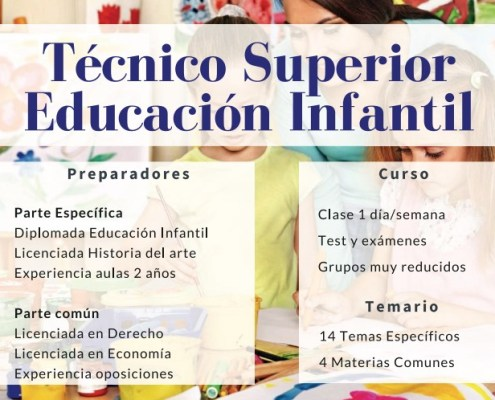 oposiciones Tecnico educacion infantil 3catorce academia cantabria