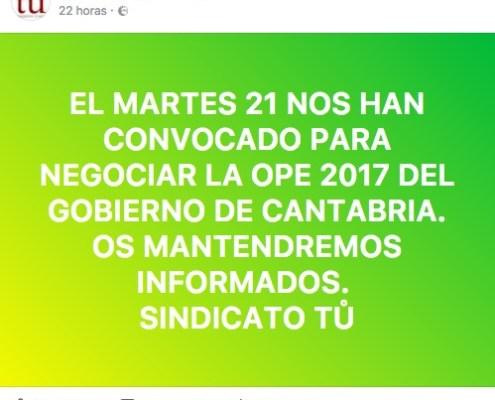Oferta Empleo Publico 2017 oposiciones Cantabria 3catorce academia santander preparador