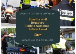 oposiciones-policia-local-nacional-guardia-civil-bombero-santander-cantabria Curso Policia Nacional Convocatoria 2018
