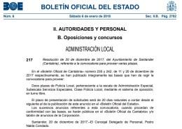 Convocatoria-Oposiciones-Policia-Local-Santander-3catorce-academia-oposiciones-santander-cantabria Cantabria presentará primer borrador de las Normas Marco reguladoras de Policía Local