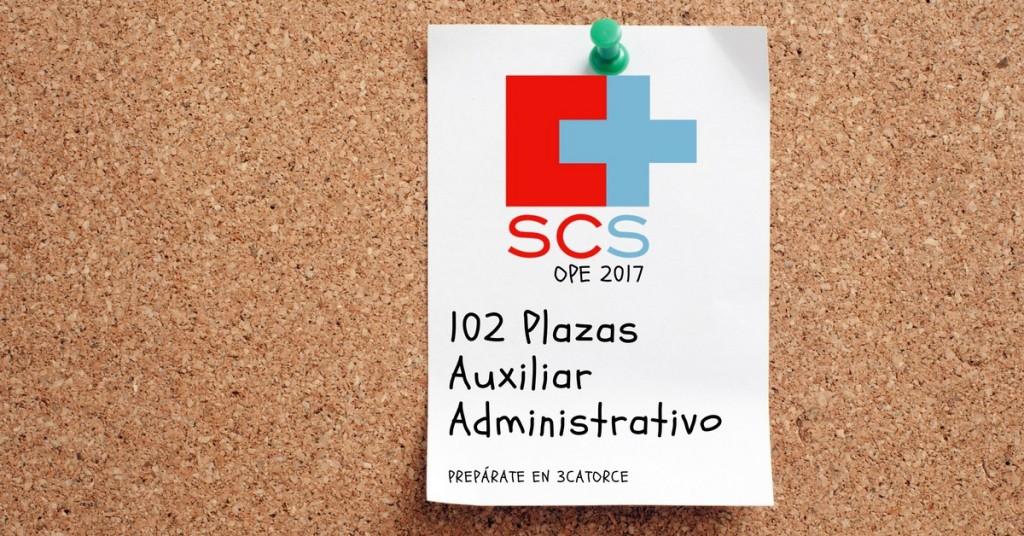 Curso auxiliar administrativo SCS 2018 - academia oposiciones santander