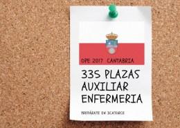 Nuevo-curso-oposiciones-auxiliar-enfermeria-SCS Se esperan 348 plazas OPE sanidad 2019 Cantabria