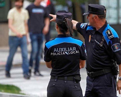 oposiciones Auxiliares Policia Local Cantabria