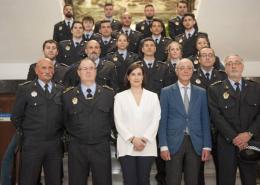 Santander-incorpora-19-nuevos-agentes-tras-oposiciones-policia-Local Cantabria presentará primer borrador de las Normas Marco reguladoras de Policía Local