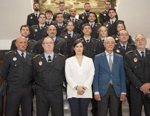 Santander incorpora 19 nuevos agentes tras oposiciones policia Local