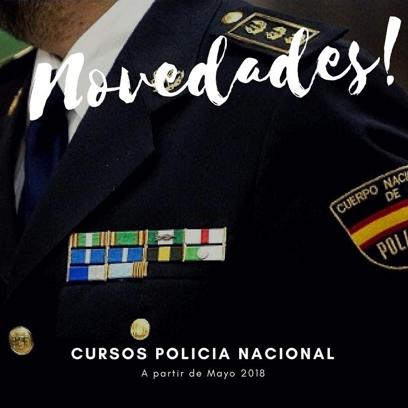 Novedades-curso-oposición-policia-nacional-2018 El mayor numero de Aptos en la 34 convocatoria oposiciones policia nacional de Cantabria