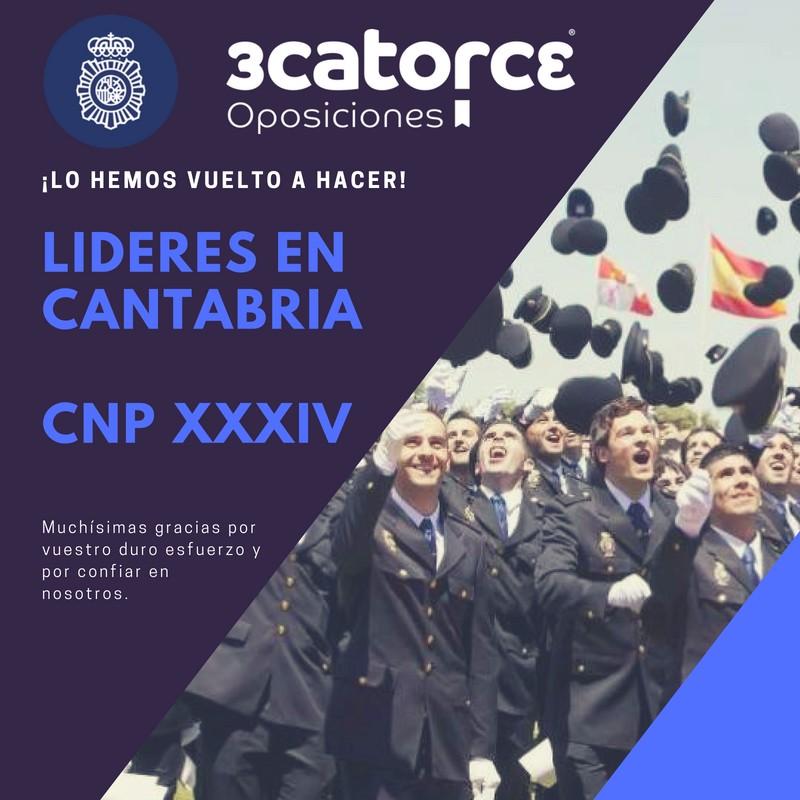 academia-lider-aptos-cantabria-oposiciones-policia-nacional-XXXIV El mayor numero de Aptos en la 34 convocatoria oposiciones policia nacional de Cantabria