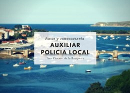 Bases-y-convocatoria-oposiciones-auxiliar-policia-local-Cantabria-San-Vicente-de-la-Barquera Convocatoria Oposiciones Empleado de servicios