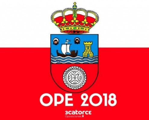 Oferta empleo publico 2018 Marina de Cudeyo Cantabria