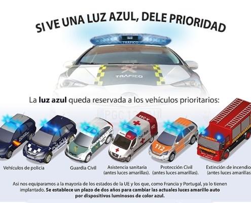 Cambios temario oposiciones policia nacional luces vehiculos prioritarios