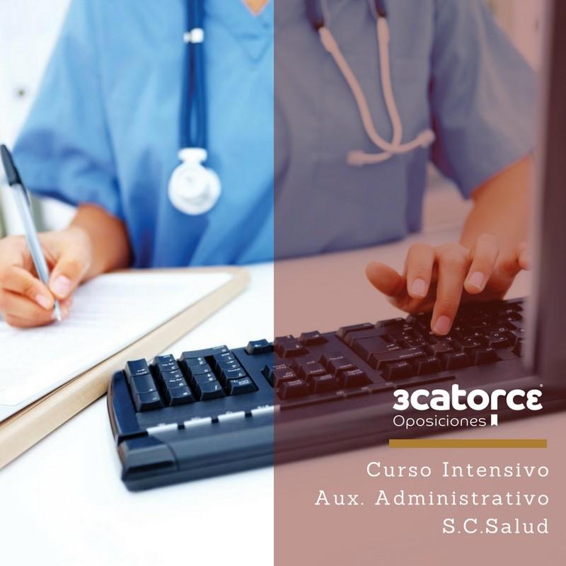 Curso-Intensivo-Auxiliar-Administrativo-Servicio-Cantabro-de-Salud Convocatoria Oposiciones SCS OPE 2017