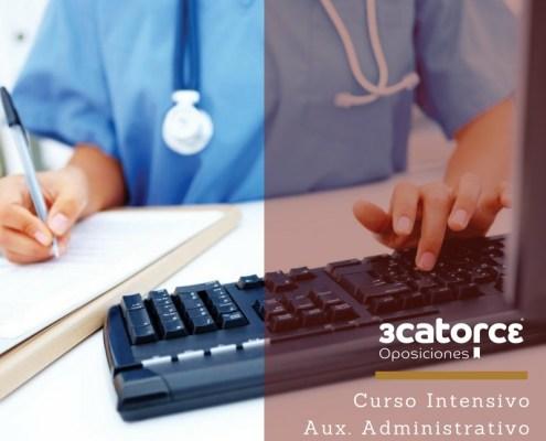 Curso Intensivo Auxiliar Administrativo Servicio Cantabro de Salud