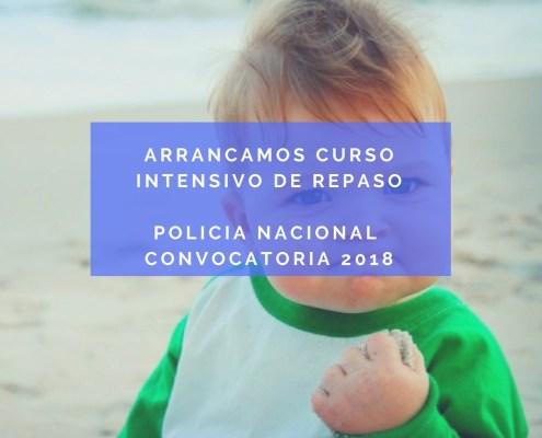 Curso Intensivo oposicion policia nacional 2018