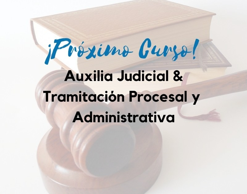 curso-auxilio-y-tramitacion Se confirma la acumulación de plazas oposiciones Justicia