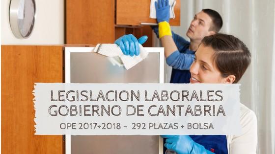 legislacion-laborales-cantabria-2019 Publicadas las plazas OPE 2018 Cantabria