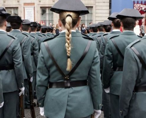 Posible cambio en el requisito estatura oposicion Guardia Civil 2019