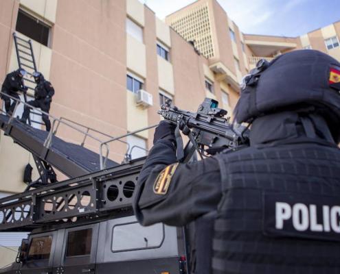 40 años del GEO la elite de la Policia Nacional