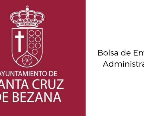 Bases bolsa empleo Administrativo Santa Cruz de Bezana