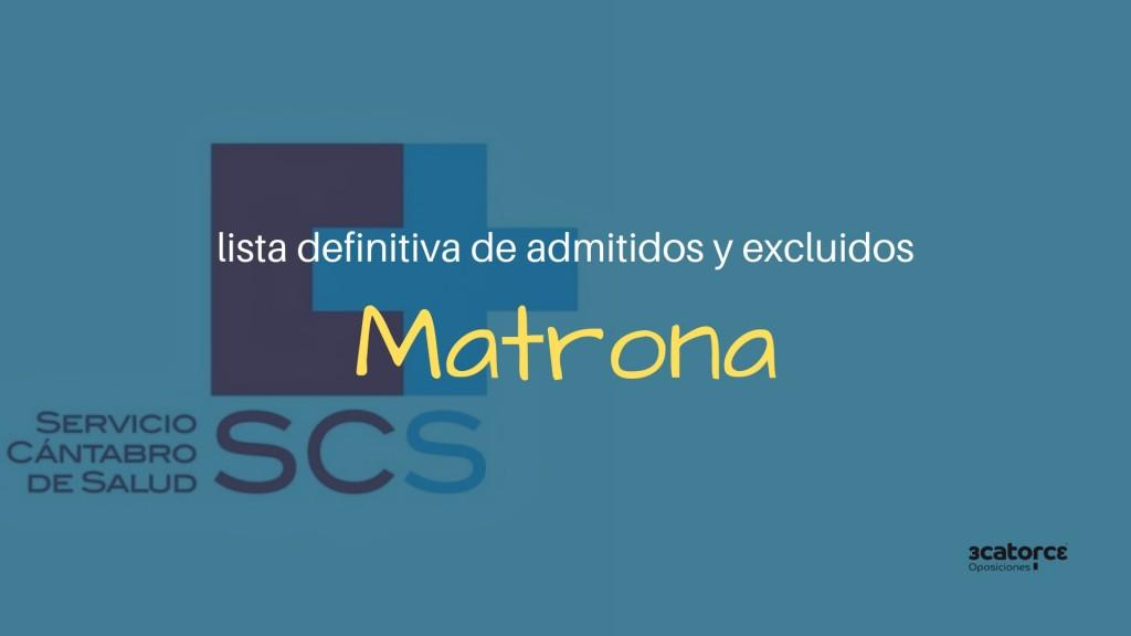 Lista-definitiva-admitidos-oposiciones-Matrona-SCS Lista definitiva admitidos oposiciones Matrona SCS