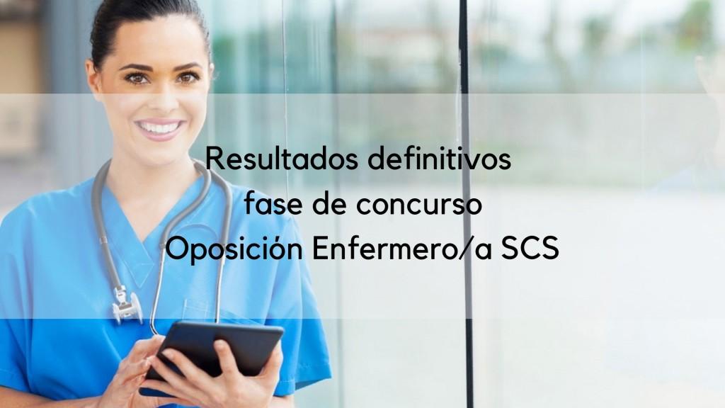 Resultado-definitivos-fase-concurso-oposiciones-Enfermera-SCS Resultados definitivos fase concurso oposiciones Enfermera SCS