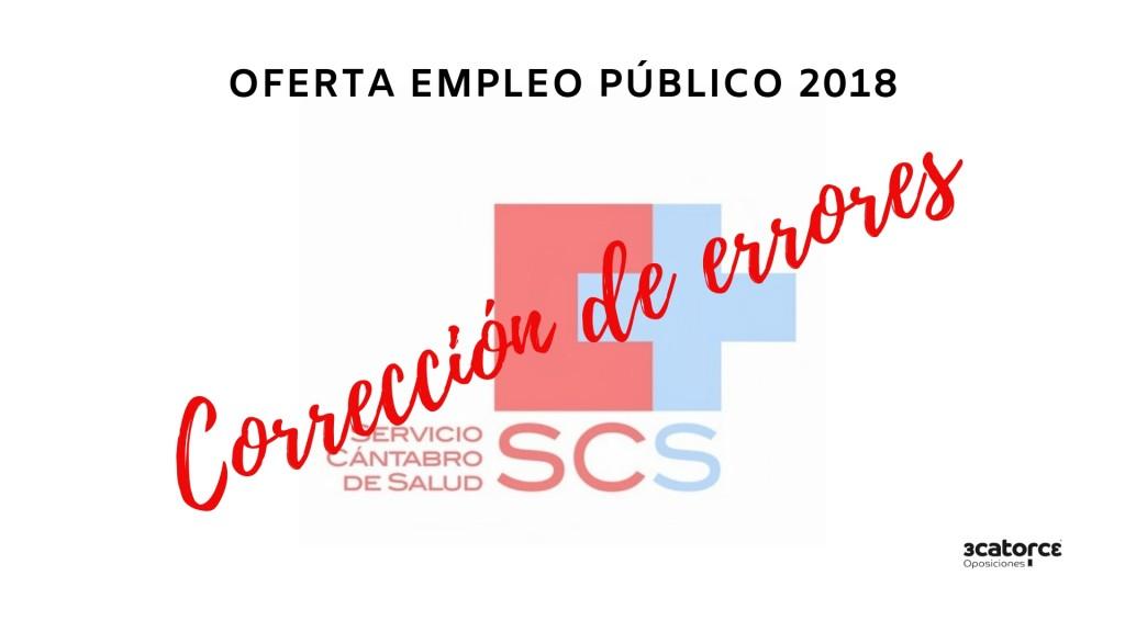 Correccion-errores-Oferta-Empleo-Publico-2018-SCS Correccion errores Oferta Empleo Publico 2018 SCS