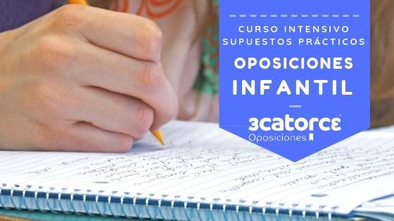 Curso-supuestos-practicos-oposiciones-infantil-Cantabria Fechas Importantes Oposiciones Maestro 2019 Cantabria