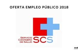 Oferta-Empleo-Publico-2018-SCS Convocatoria Oposiciones SCS OPE 2017
